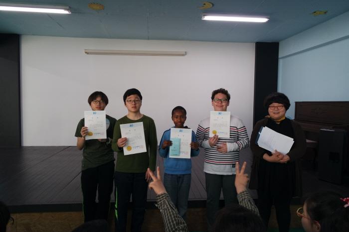 2015.05.01-중1 환경미화 우수상 수상